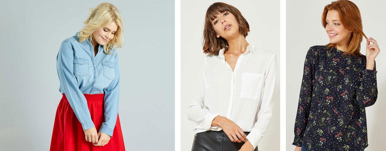 f6466410a3 Scopri le camicie da donna must-have per creare outfit trendy, originali e  sorprendenti.