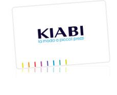 carta fedeltà offerta da kiabi